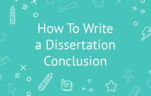 Plan dissertation conclusion